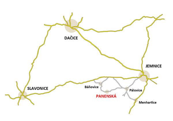 Mapa větší